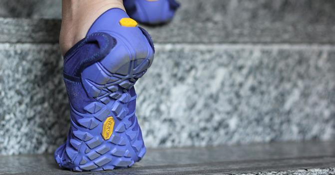 zapato estilo furoshiki azules