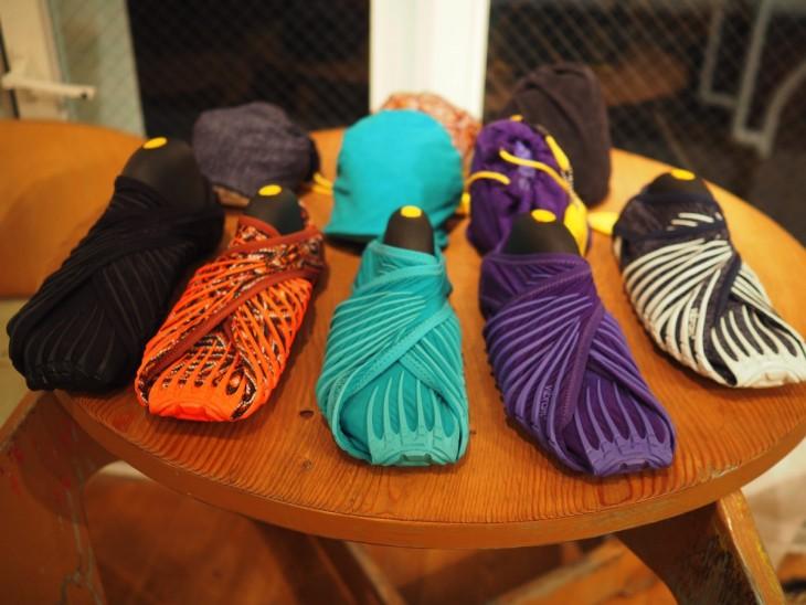Zapatos furoshiki