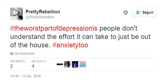 Sensaciones detrás de la depresión