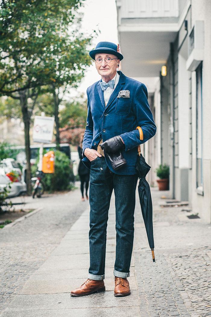 Abuelo Hipster de 104 años con más estilo que cualquiera