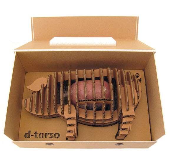 caja de jamon de tocino