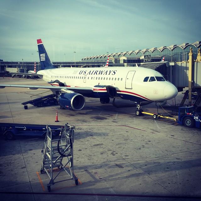 panoramica de un avión del us