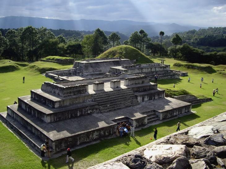 El mirador sitio arqueologico en guatemala