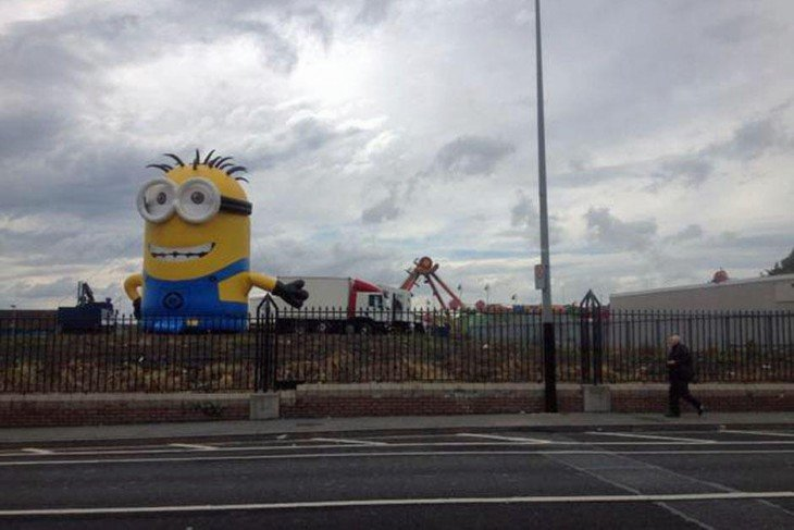 minion de una referia local de irlanda causa caos vial en las carraeteras