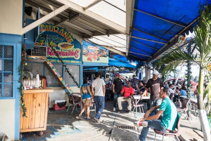 mercado de mariscos panama