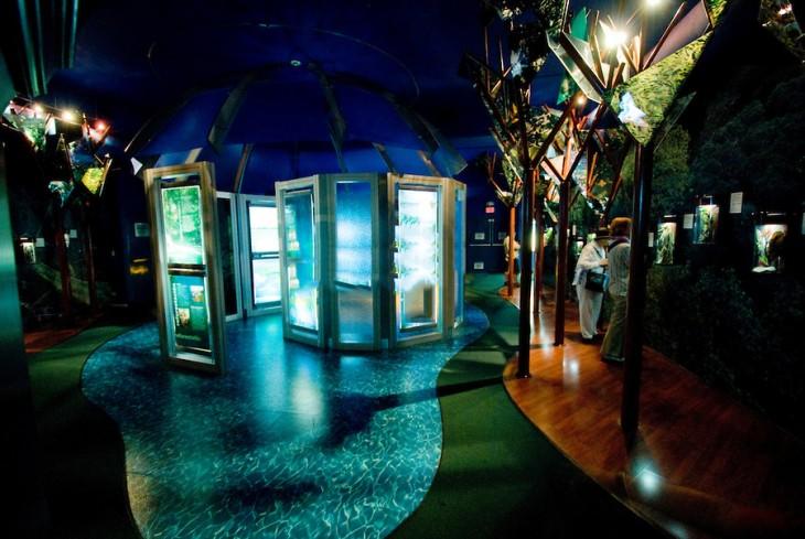 museo de visitantes de esclusa panama