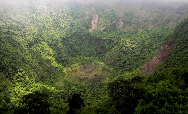 Cráter del Volcán San Salvador