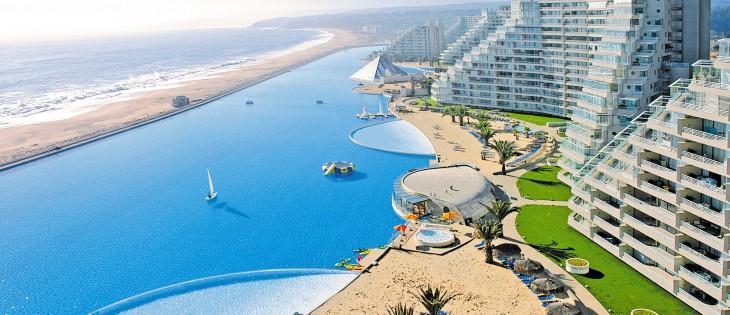 Piscina del Hotel San Alfonso del Mar CHILE