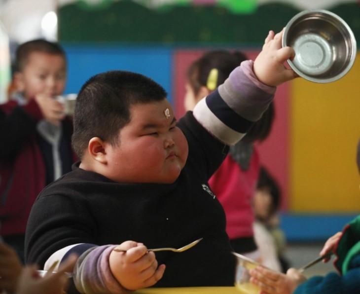 El pequeño más gordo del mundo