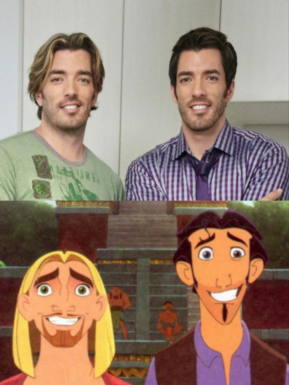 the propeerty brothers son idénticos a Miguel tulio