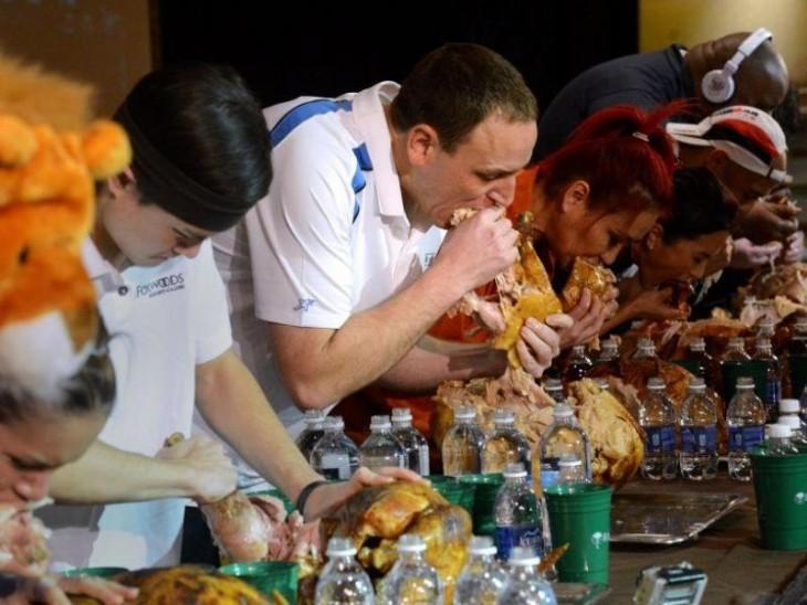 concurso de comida haber quien come más