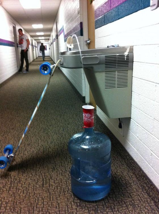 como ahorrar agua cuando eres estudiante