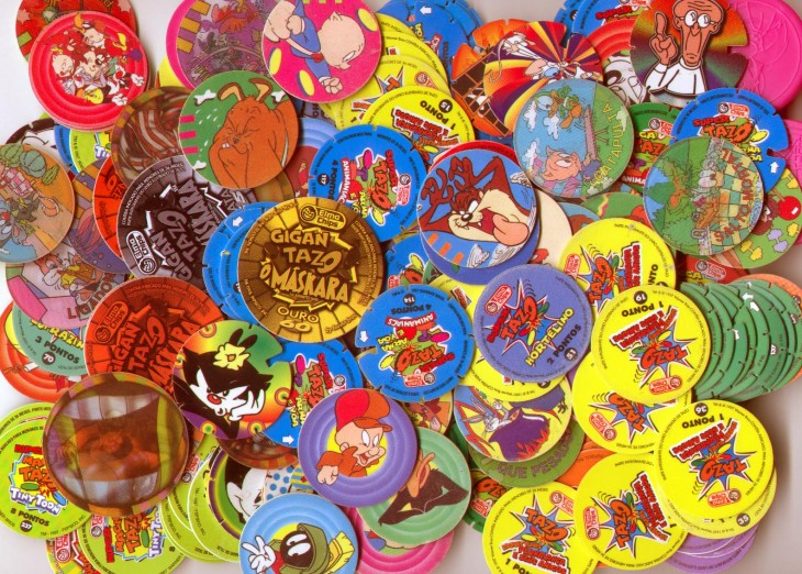 tazos de la infancia en los 90's
