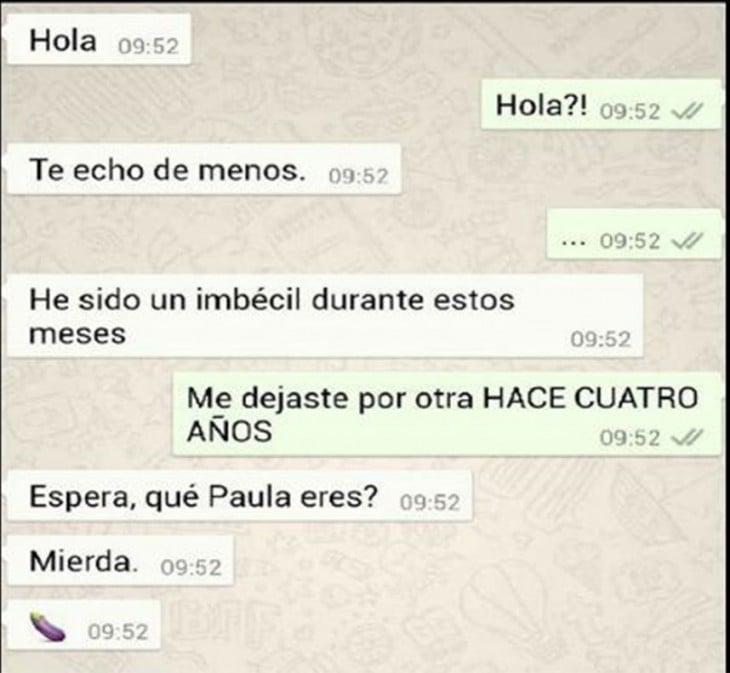 RESPUESTA A UNA CONFUSIÓN DE EX