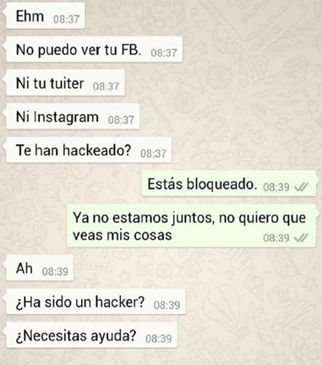 CUANDO TU EX ES UN HACKER
