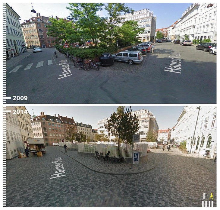 Copenhagen, Denmark. según la visión de urbi