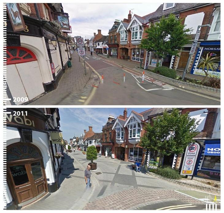 Horsham, UK. segun la visión de urbi