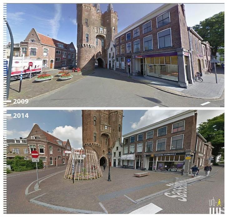 Zwolle, The Netherlands según la visión de urbi