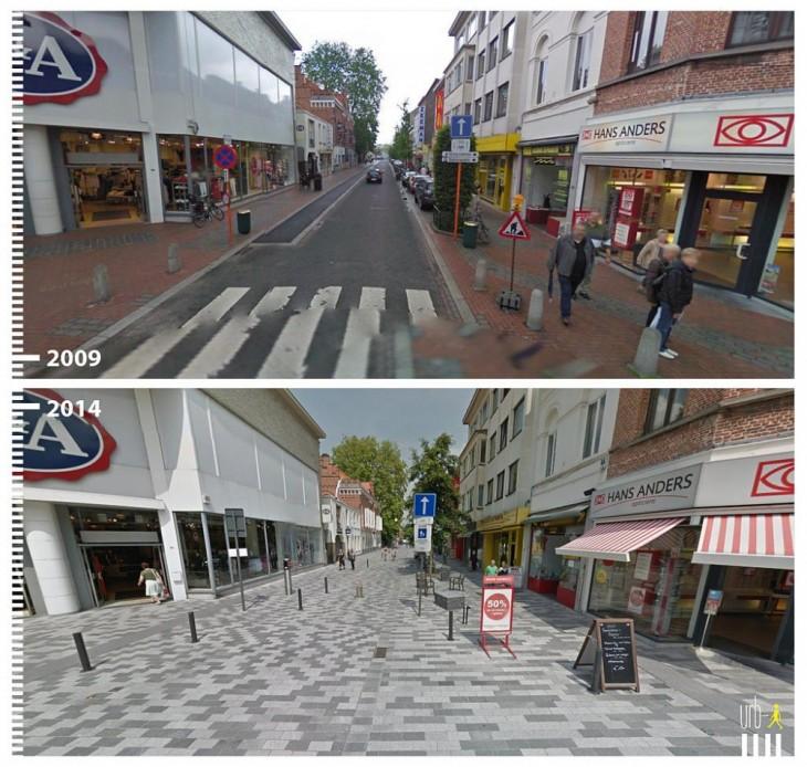 Sint-Niklaas, Bélgica según la visión de urbi