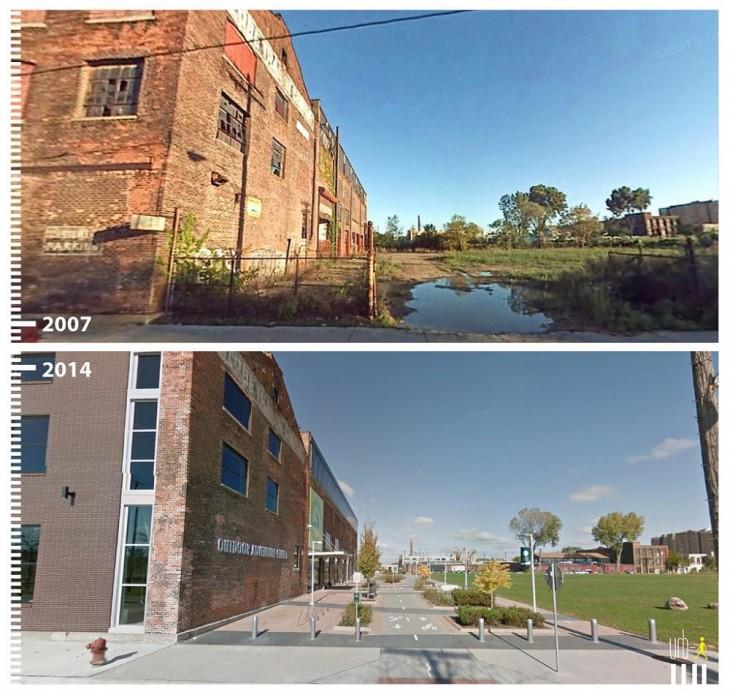 Detroit, EE.UU. según la visión de urbi