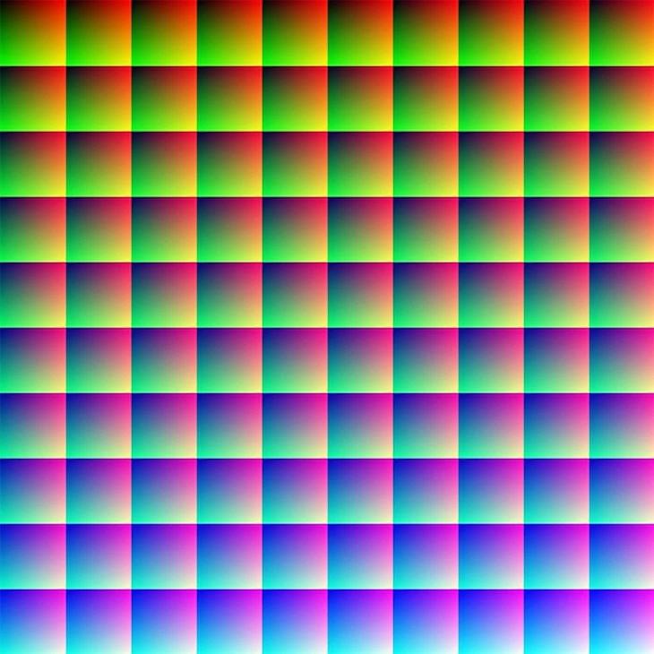hay un millón de colores en esta imagen
