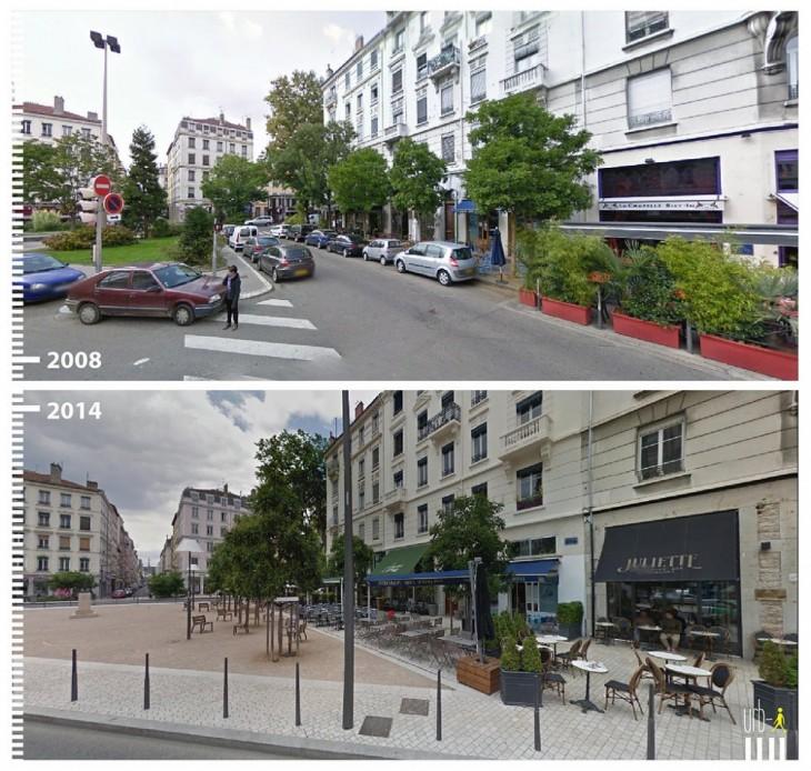 Lyon, Francia Según la visión de urbi