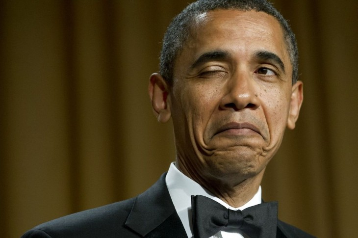 barack obama guiño con el ojo
