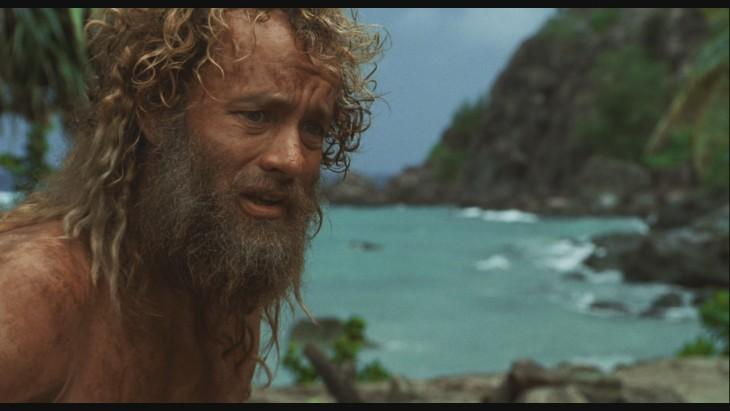 escenas de la película de naufrago