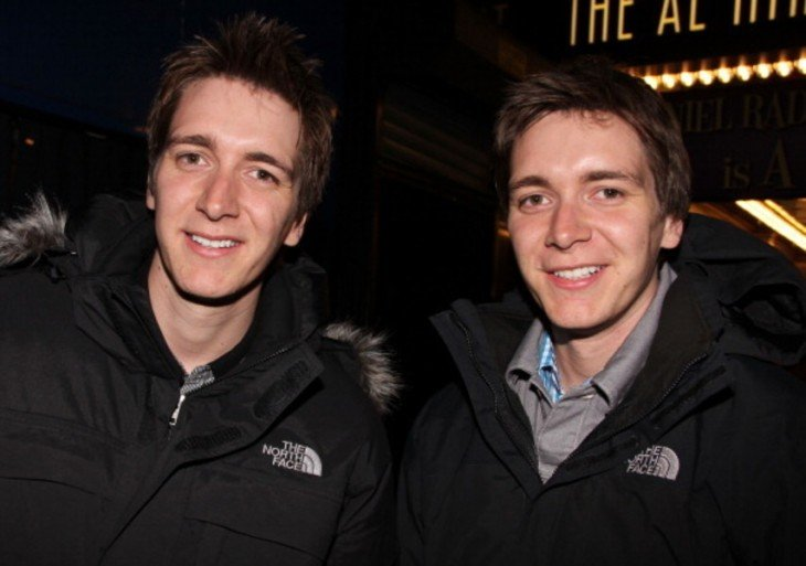 James Phelps and Oliver Phelps 2015