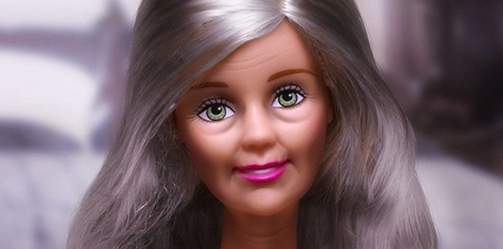 barbie viejita
