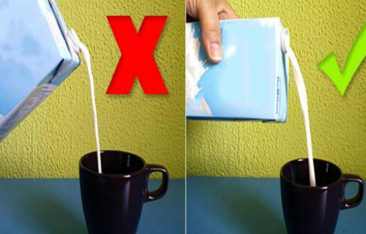 Como usar un envase tetra pack