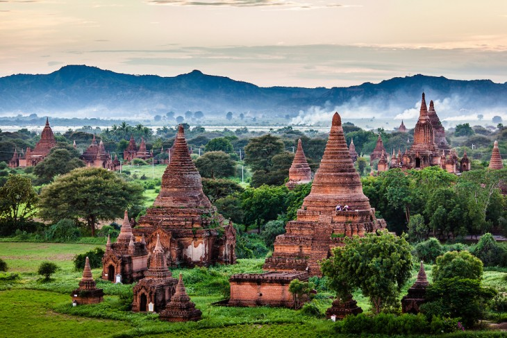 Bagan, Birmanía