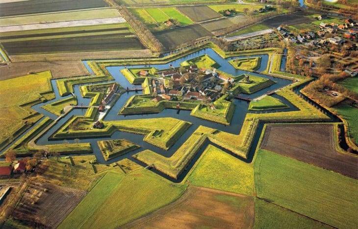 Aldea de Bourtange, Holanda