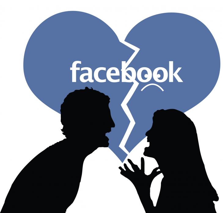 Divorcio en facebook