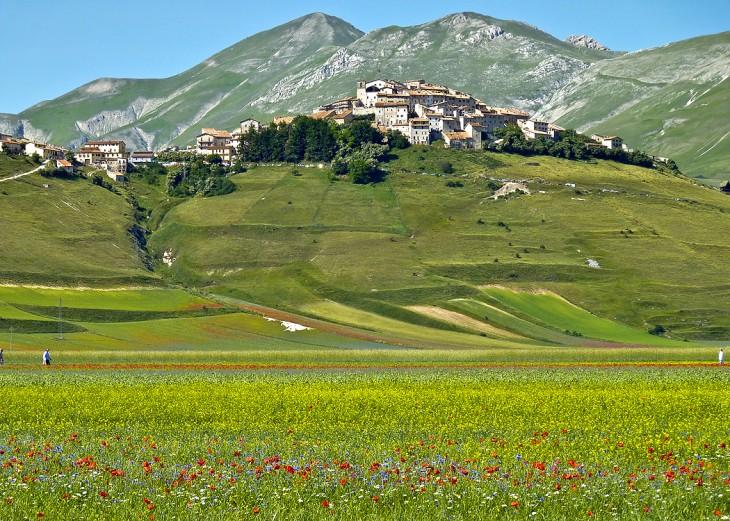 Castelluccio Norcia, Umbría