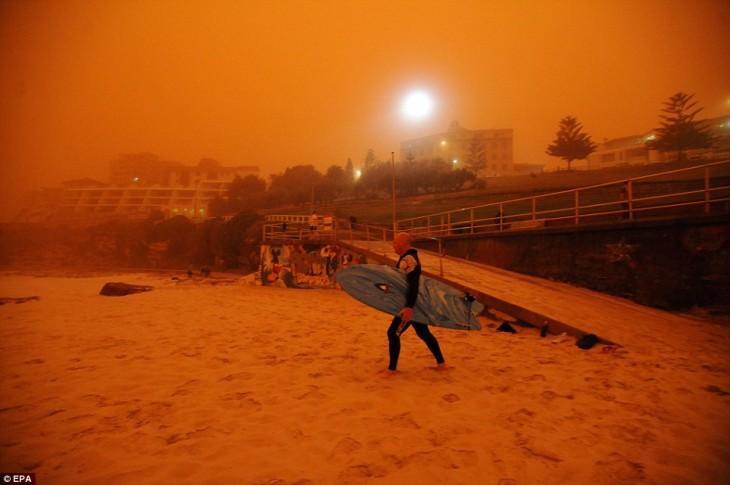 tormenta de arena, australia