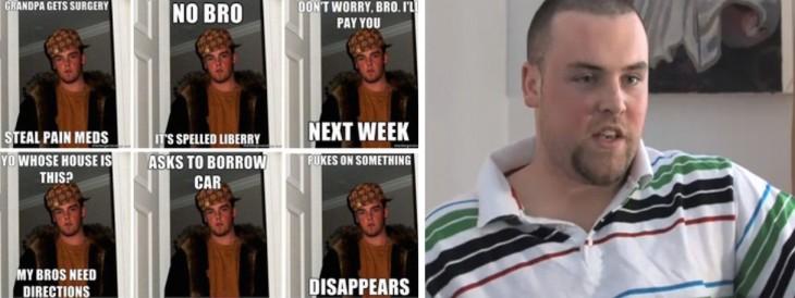 Chico protagonista del meme de Scumbag Steve