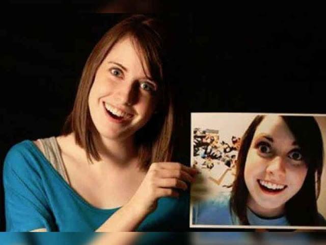 """Antes y después del personaje del meme """"Novia Psciopata"""""""