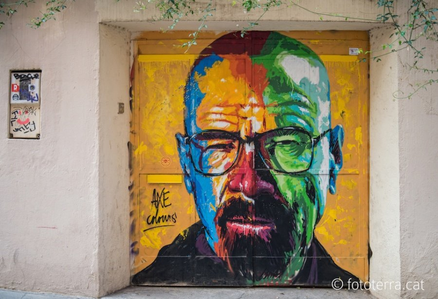 Awesome stencil graffiti