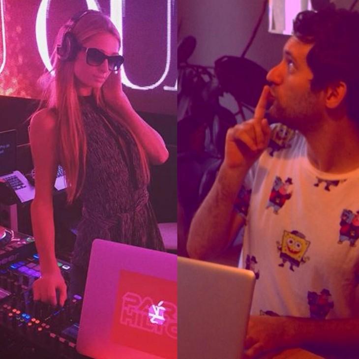 Jon de Dj junto a Paris Hilton