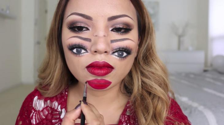 Maquillaje con Terrorífica ilusión para este Halloween ¿¡Qué estoy viendo!?