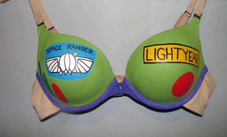 Brasier con el diseño de Buzz Lightyear