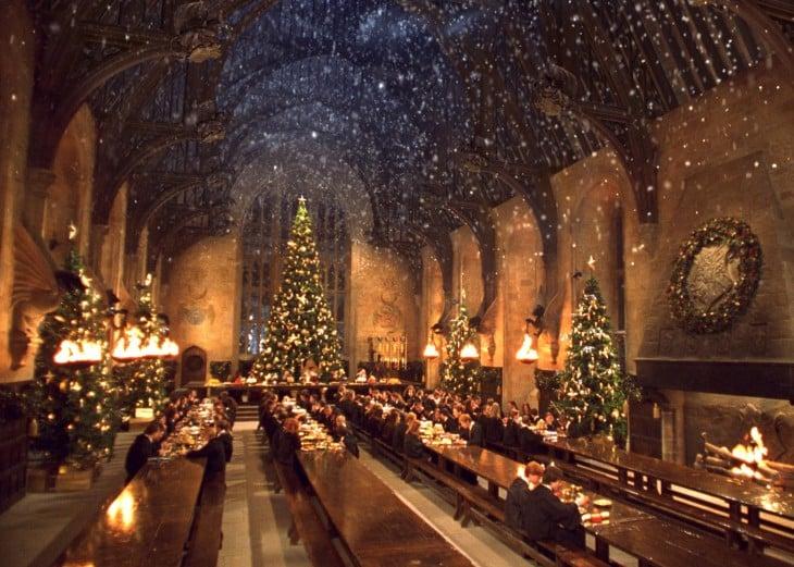 Gran Comedor de Hogwarts en las películas de Harry Potter