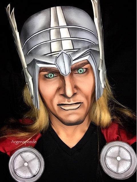 Pinal Argenis-se como Thor