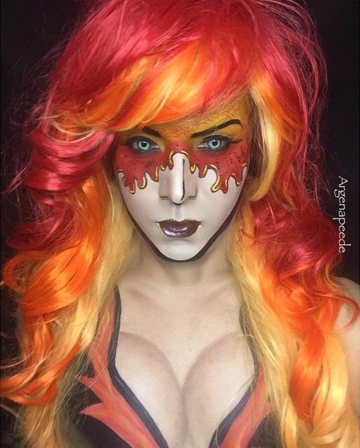 Maquillaje de Firestar