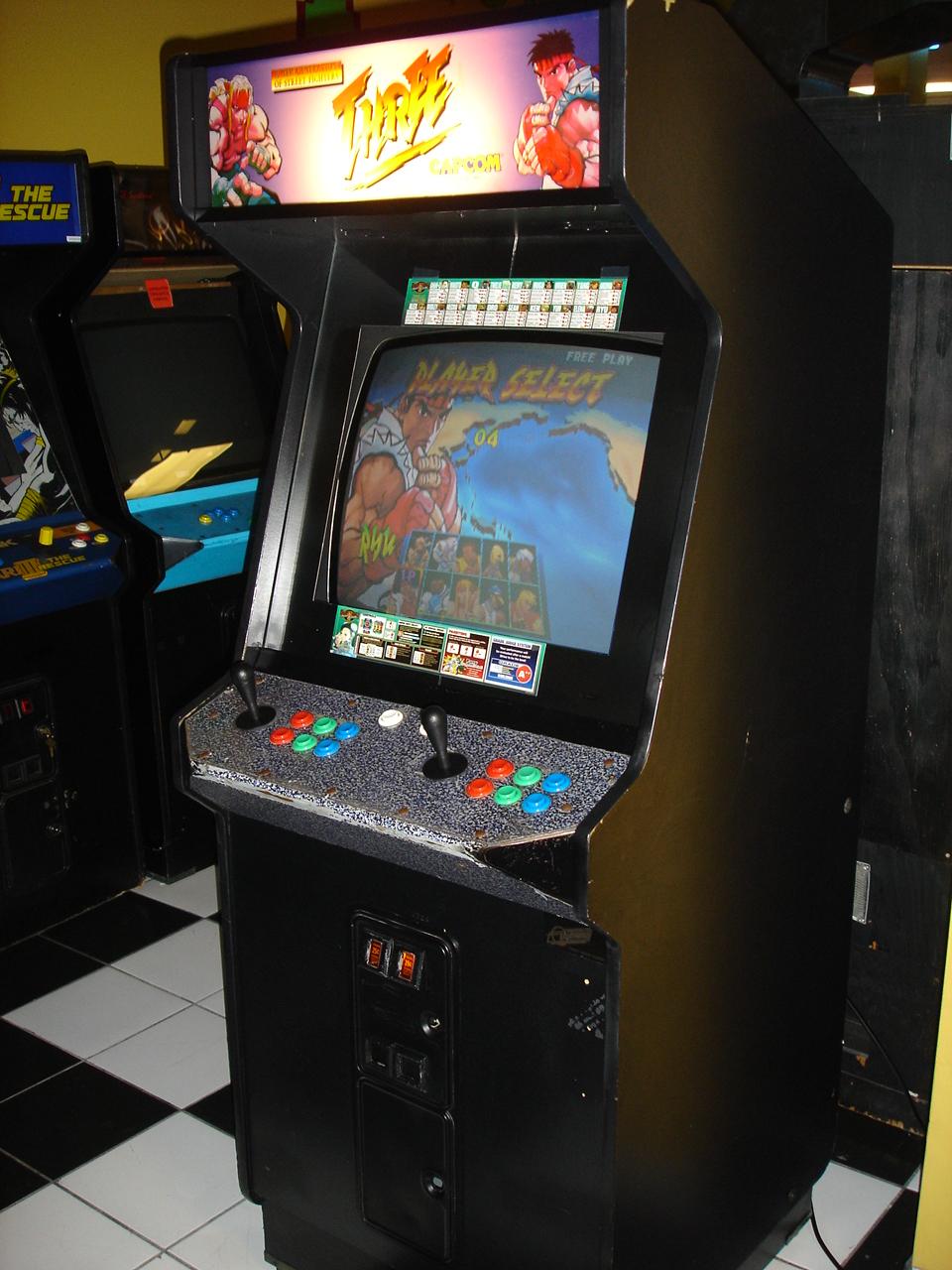 fighter iii arcade machine