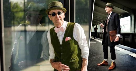 Este Abuelo aparte que es tan longevo para nuestro tiempo, su estilo es grandioso y muchos jóvenes lo envidian