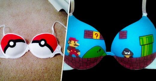Toda chica Geek hasta en su ropa interior muestra su estilo de vida