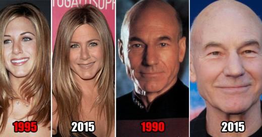 Estas celebridades nunca envejecen