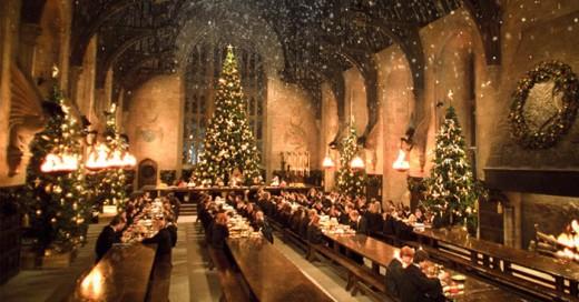 Tener una cena en el salón principal de hogwarts es para los fans un sueño que ahora se podrá hacer realidad